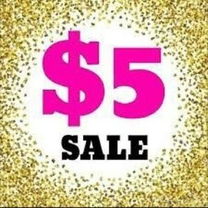 $5 sale on some clothes!